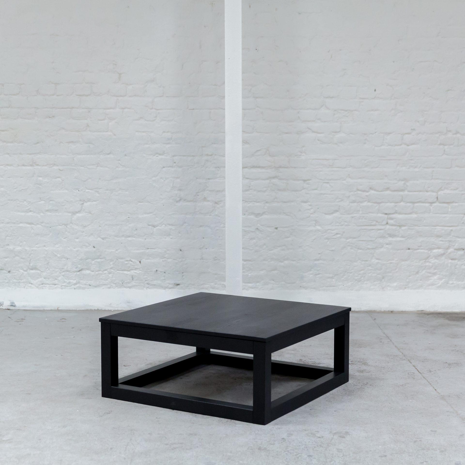 Black Oak Coffee Table Juno Hire