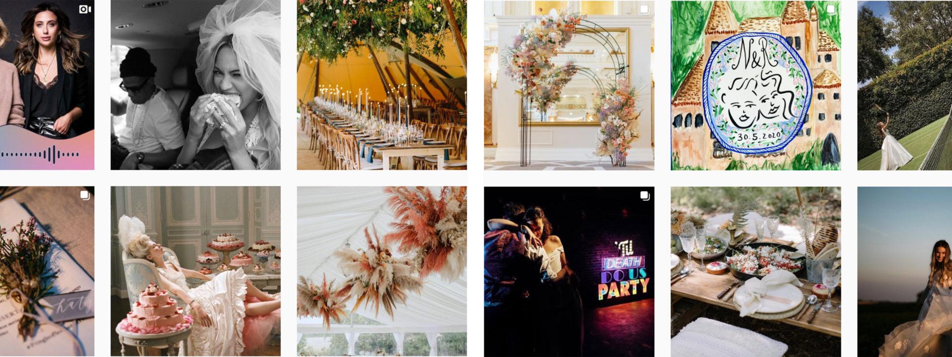 Event planning instagram account